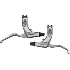 Shimano Deore Trekking BL-T610 Brake Lever pair, silver